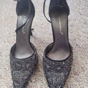 Beaded heels
